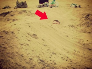 buried covered unseen hiden