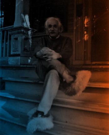 Albert-Einstein-Happy