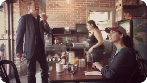 comedians in cars getting coffee sarah silverman