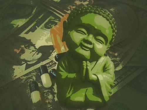 sick society buddha
