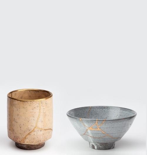 japanese pottery Kintsukuroi