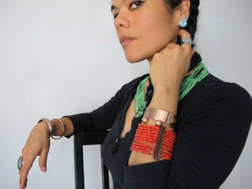 vintage copper bracelet