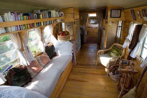 onverted school bus home