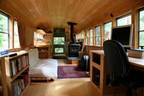 tiny home school bus