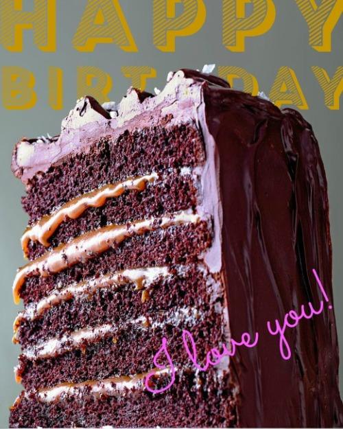 happy birthday - i love you