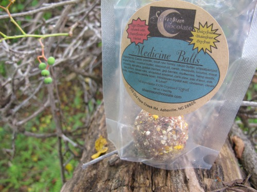 Silver Moon's Medicine Ball (amazing raw vegan chocolate!)