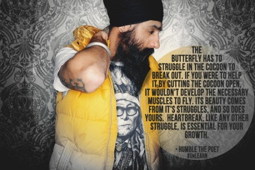 Kanwer Singh aka Humble the Poet