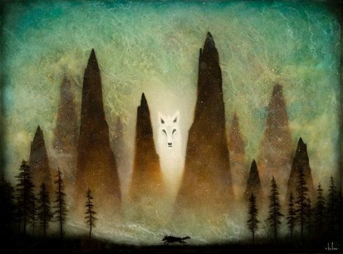 Andy Kehoe Art - Mother of the Lone Wolf Print