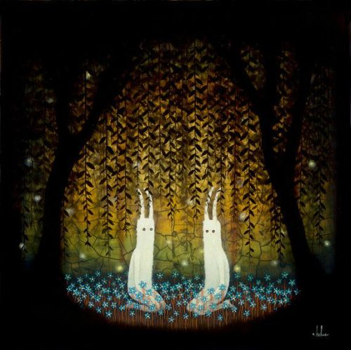 Andy Kehoe Artwork - Mutual Enchantment Print