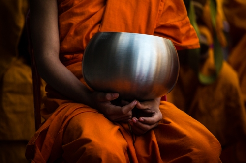 Alms Offering to 10000 monks - Chiang Mai, 2013