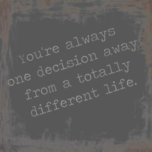 different life quote