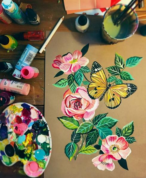 katie daisy art