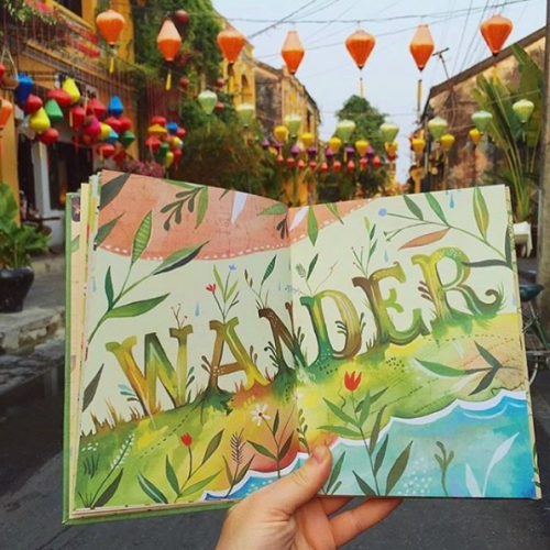 wander illustration