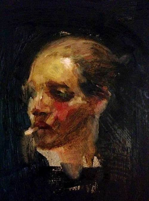 Charlie Mackesy painting