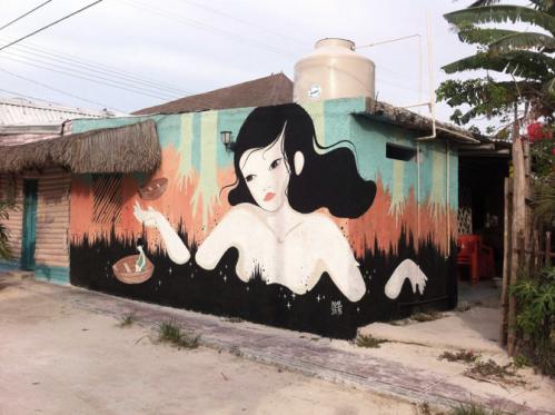 Hilda Palafox mural