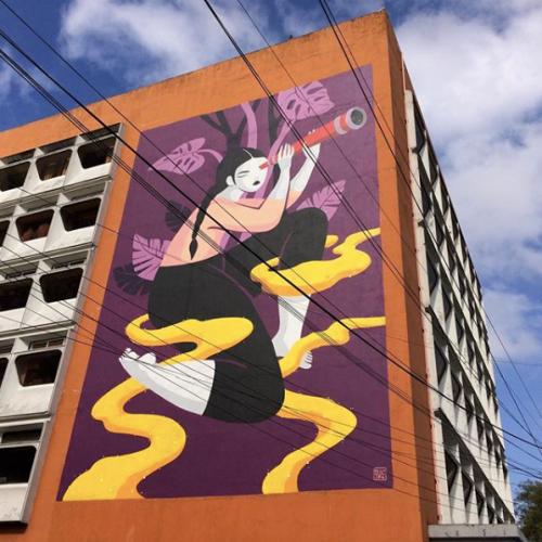 Hilda Palafox wall