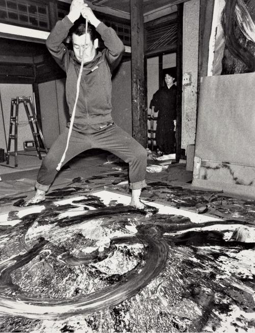 Kazuo Shiraga artist
