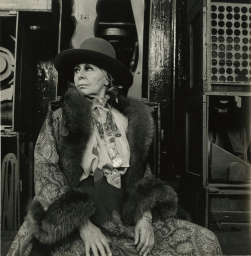 Louise Nevelson portrait