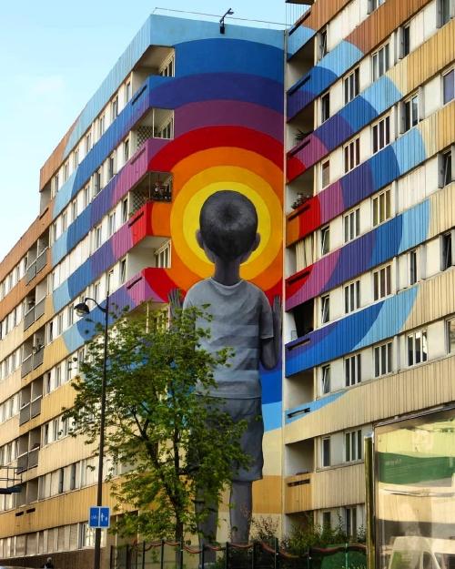 Seth Globepainter mural