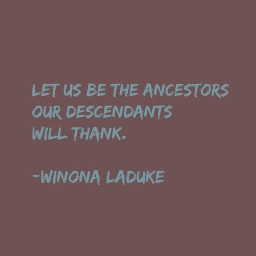 ancestors quote 2020