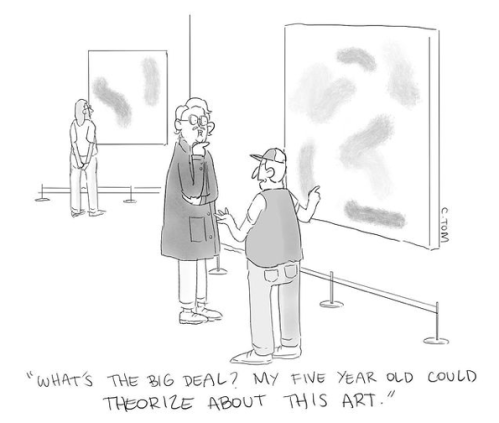 abstract art critic