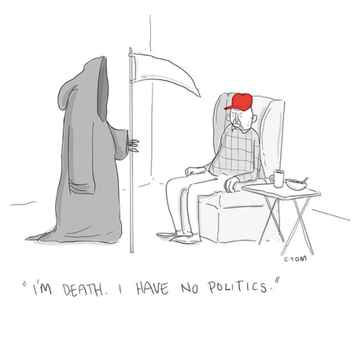 death and politics