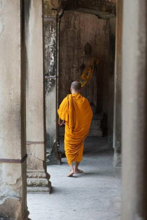 Monk Morning Routine
