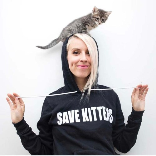 Kitten Lady Hannah Shaw